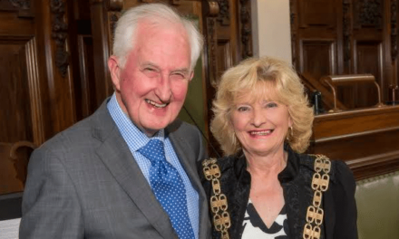 County council chair continues to champion volunteers