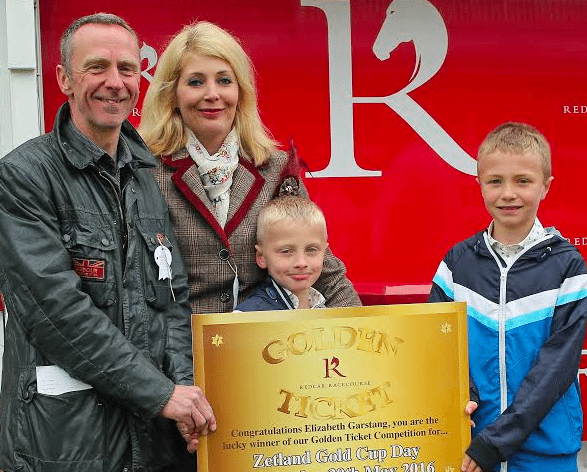 A golden day at the races for North East family