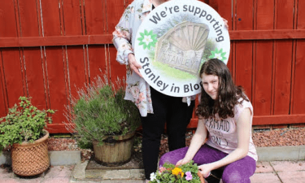 Partnership planting scheme helps Stanley bloom