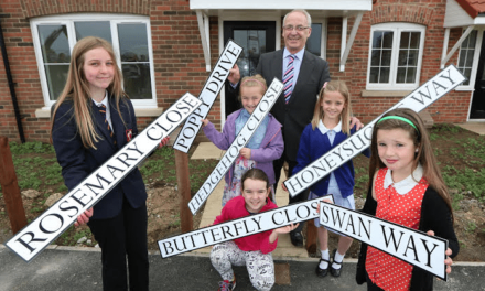 Sowerby Pupils come up with Street Names
