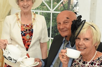 Hat And Afternoon Tea With The Mayoress At Home