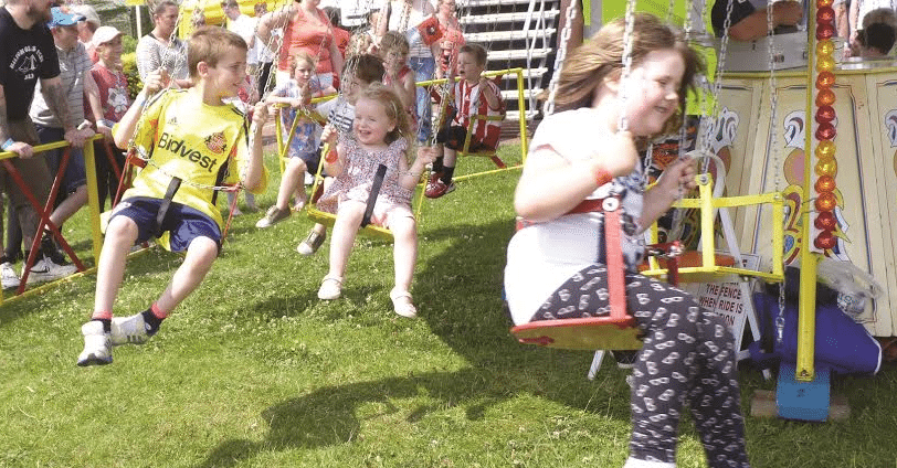 From Football To Fairground For A Day of Family Fun