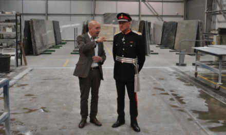Lord Lieutenant Commends Newly Qualified F. Jones Apprentices
