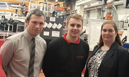 Teenager In Driving Seat  With Mecaplast Apprenticeship