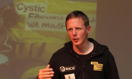 Cystic Fibrosis Everest Mountaineer Inspires Old School As Part Of £100,000 Fundraise