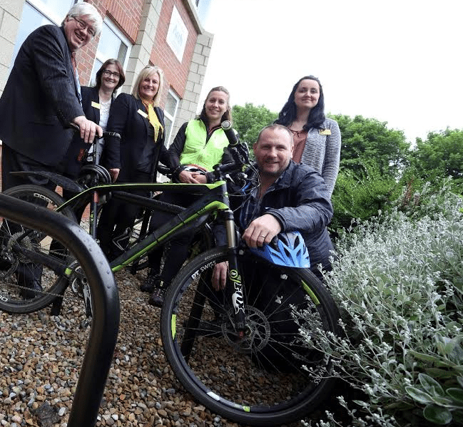 No Standing Still For Cycling Scheme