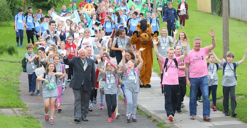Future Sporting Champs Take Part In The Biggest Ever Northumberland School Games