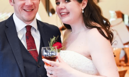 Wedding Couple Prove To Be A Match Made In Heaven