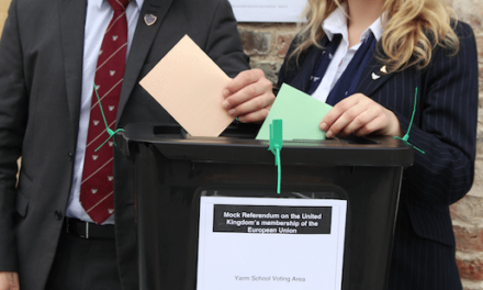 Yarm School Goes To The Polls In Own EU Vote