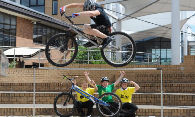 Pedal power wins Gateshead pupils prestigious award for second year running