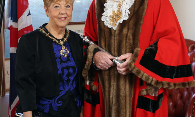 Join Stockton-On-Tees' mayoress at home
