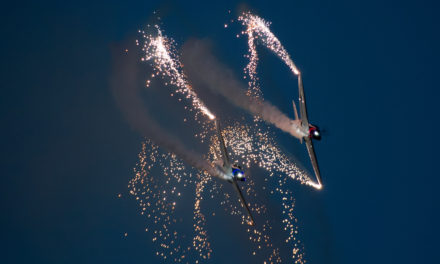 Flying to the moon at this year's Sunderland international airshow