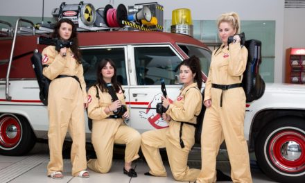 Ghostbusters car at intu Metrocentre this Friday