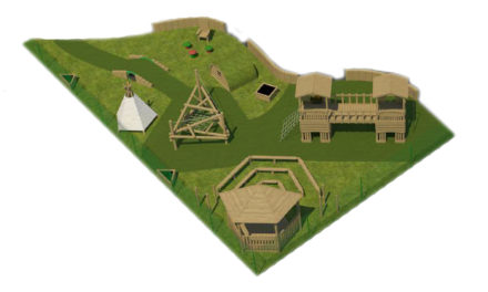 Local primary school to benefit from exciting new 'Woodland Village' playground