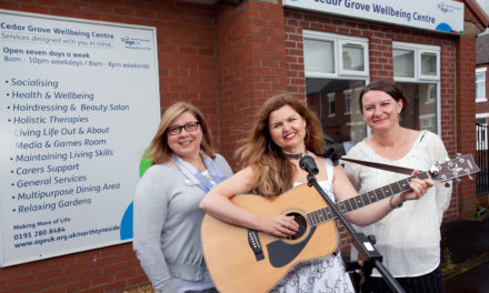 Age UK in tune with music charity