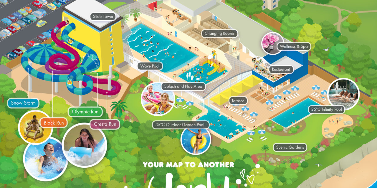 Alpamare treasure hunt to win tickets to new waterpark