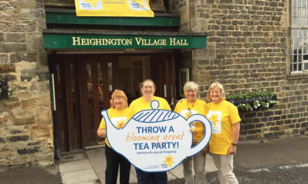 Newton Aycliffe brews up for Blooming Great Tea Party