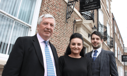 Law firm takes up new office in historic building