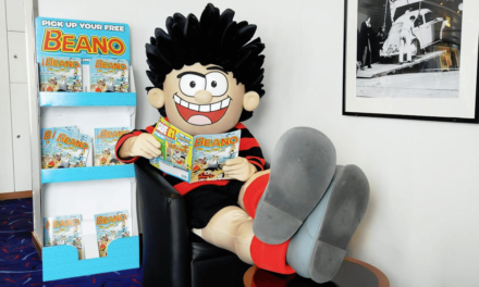 School Pupils Meet Dennis the Menace at Beano Masterclass with DFDS
