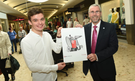 Teesside student wins arts accolade from Hillstreet Shopping Centre