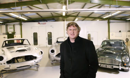 Durham workshop goes for growth with launch of classic car showroom