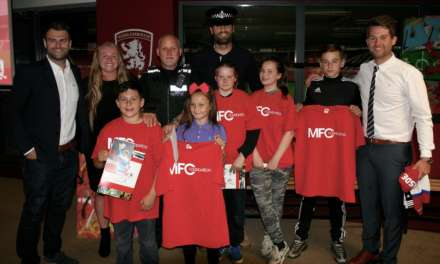 MFC foundation kicks antisocial behaviour into touch