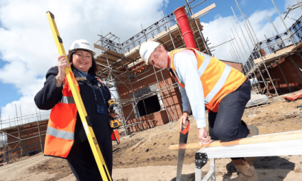 Housebuilder over half way to raising £100K for Global Charity