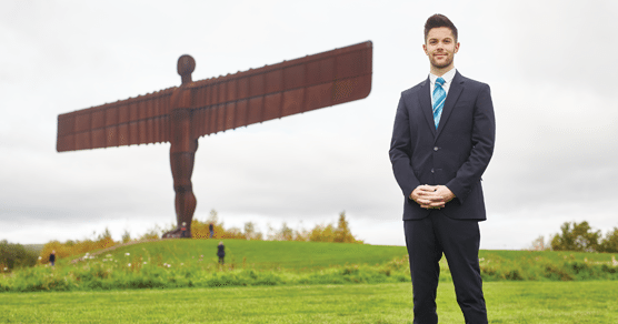 Dale picked to Lead the Team at New Newcastle Building Society Gateshead Branch