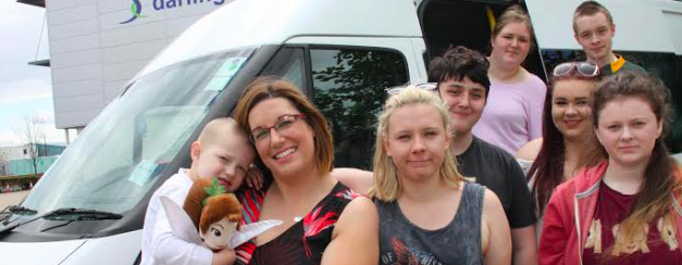 Students raise funds for RVI to support poorly toddler