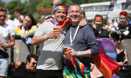 Catering firm celebrates record-breaking Pride event