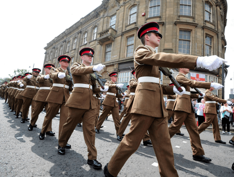 On Parade – 4 Regiment Exercises its Freedom