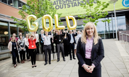 Gateshead College goes for Gold