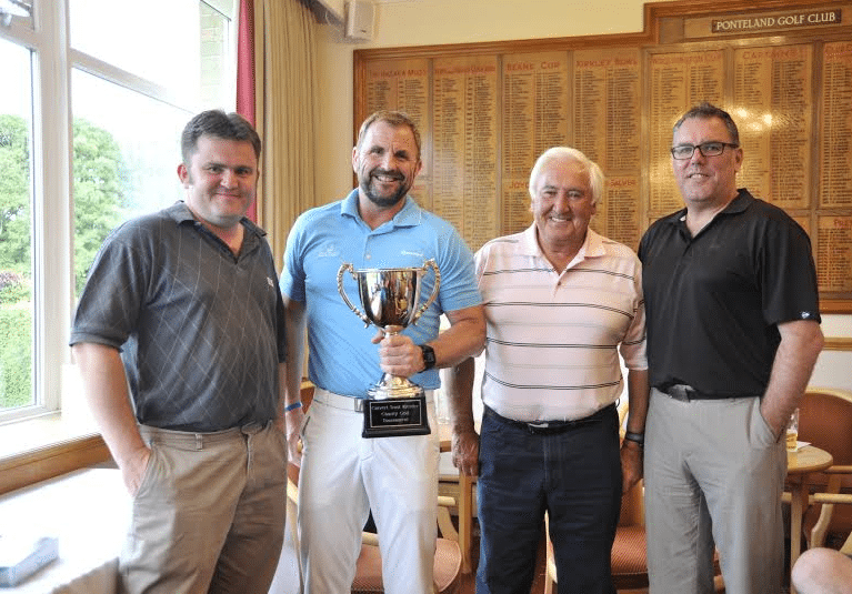 Golfers Help Charity's Fundraising Drive