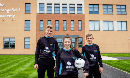 STS scores sponsorship deal for Teesside school + Tyneside team
