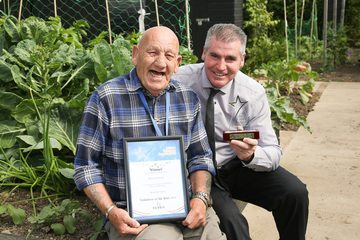 Dedicated Westfield Farm volunteer recognised for achievements