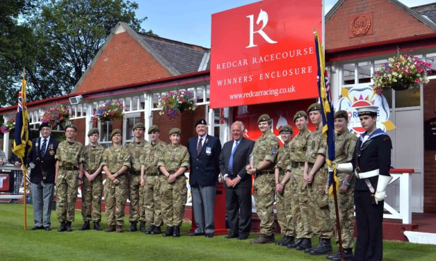 Redcar Racecourse prepares to salute country's heroes during raceday