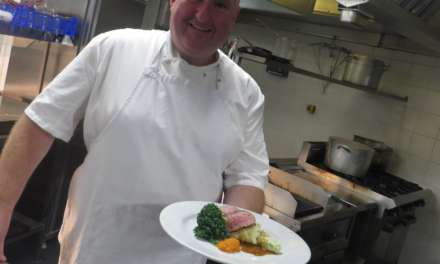 Stockton chef calls on famous friend to help put on a top night at ARC