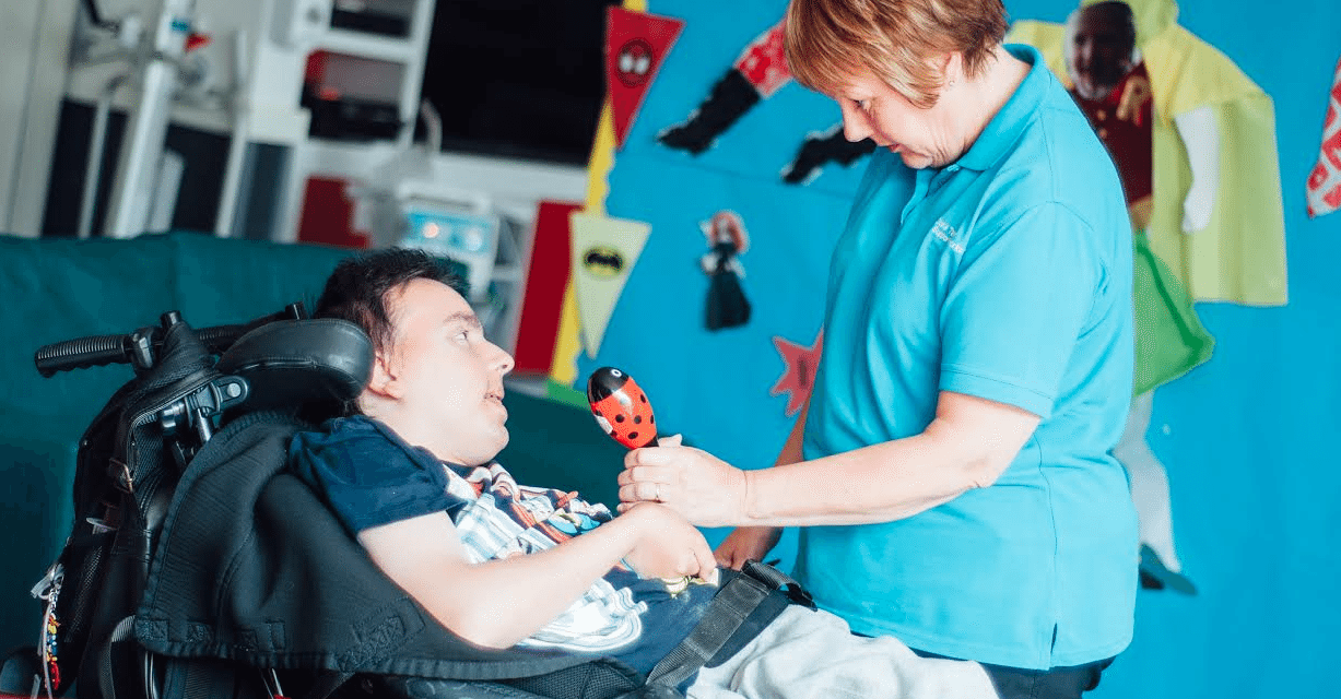 Hospice is a lifeline for family of young adult using service