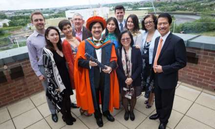 World-leading engineer builds bridges with his old campus