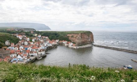 England Coast Path gives access to a spectacular new vantage point showcasing the beauty of Staithes