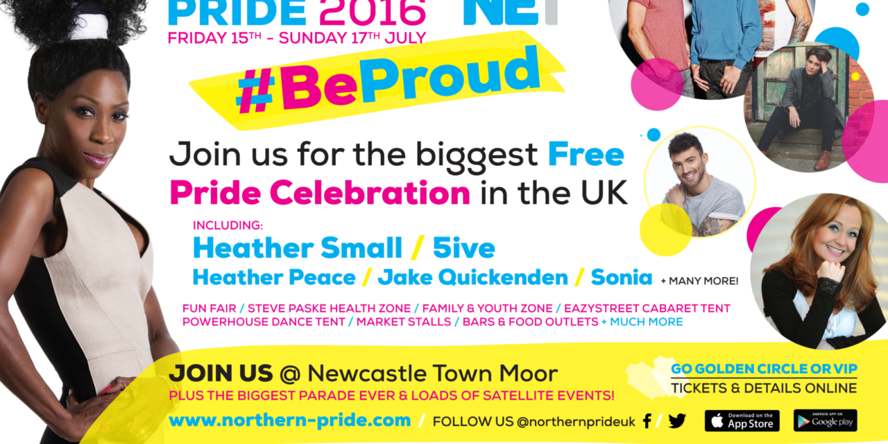 Newcastle set to burst with Pride