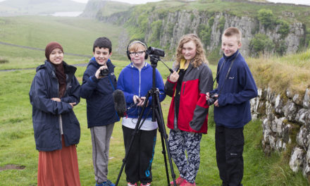 Ashington students use their tech skills to create a digital history for the National Park