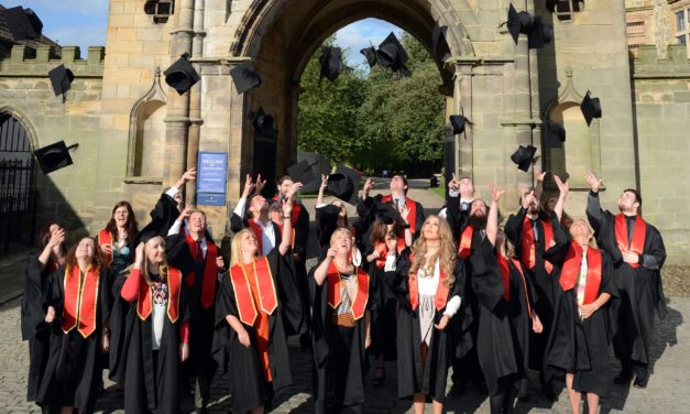 Castle hosts graduation ceremony
