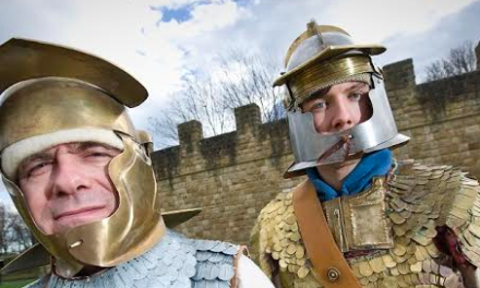 Festival encourages people to get hands-on with the past on Hadrian's Wall!