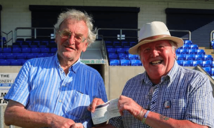 Mike Amos & Bishop Auckland FC Honour Fan