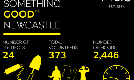 Seven Days of Volunteering Sparks Something Good in Newcastle
