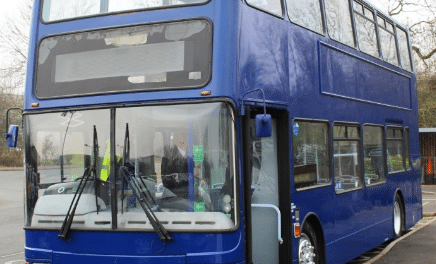 North East charity set to benefit from donated bus