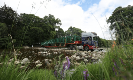Replacement for Stanhope bridge to open