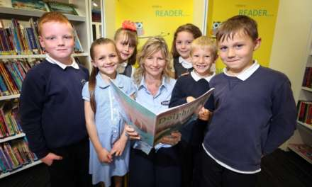 New library hosts story time for schoolchildren