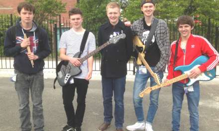Young band hits the top note